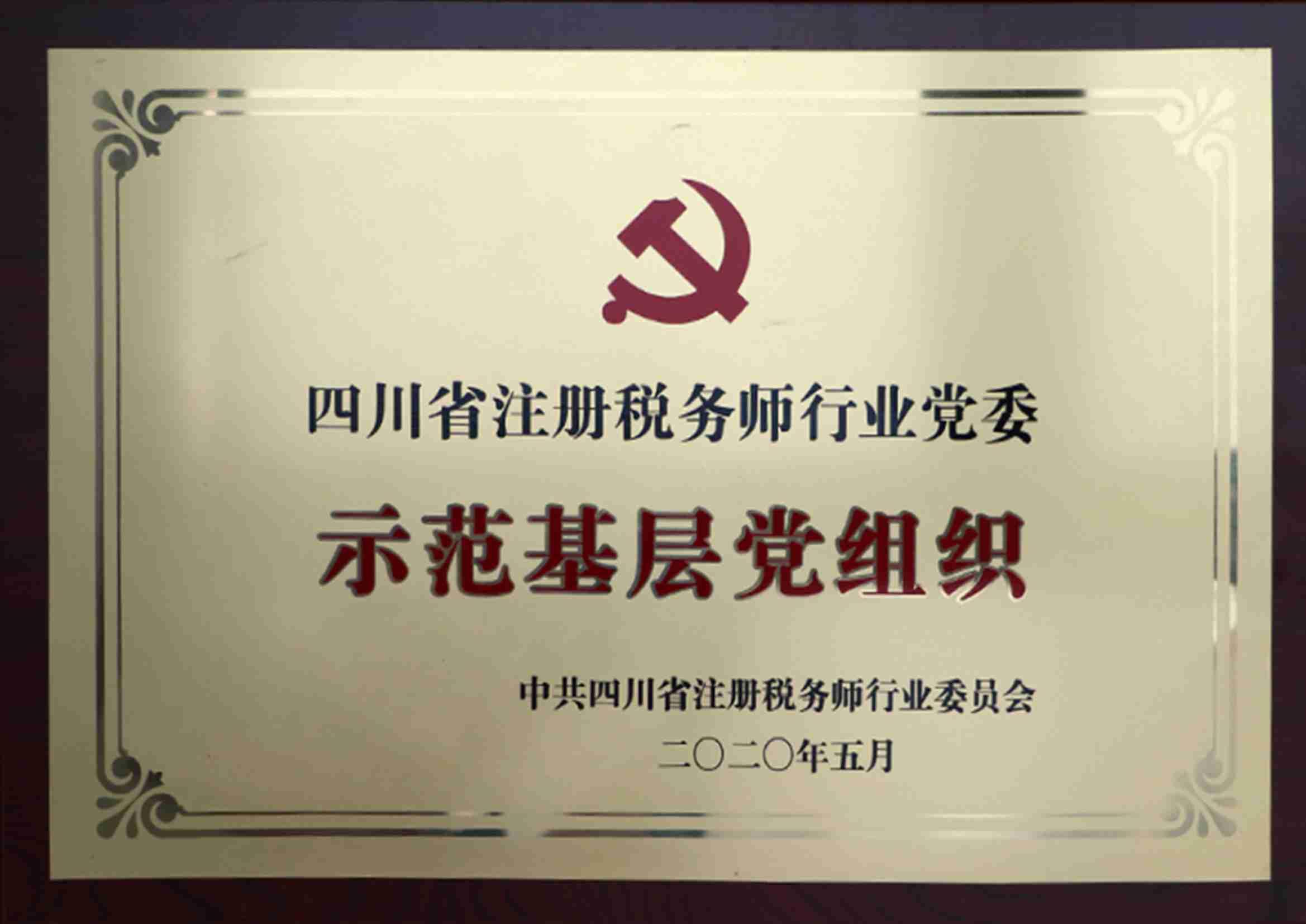 2020示范基层党组织